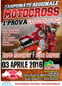 Motocross Riccia 3 aprile